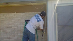 House Painter San Antonio TX Before during and after pictures