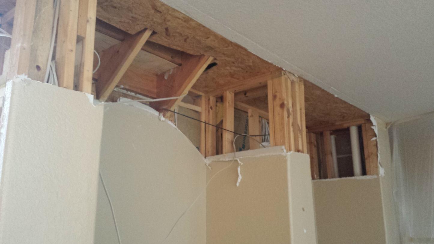 Drywall Sheetrock Water Damage Repair